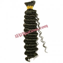 Tasha New Deep Wave Human Hair Bulk 18""