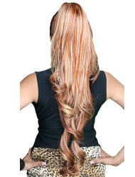 Drawstring HP-258L Ponytail Hair Pieces