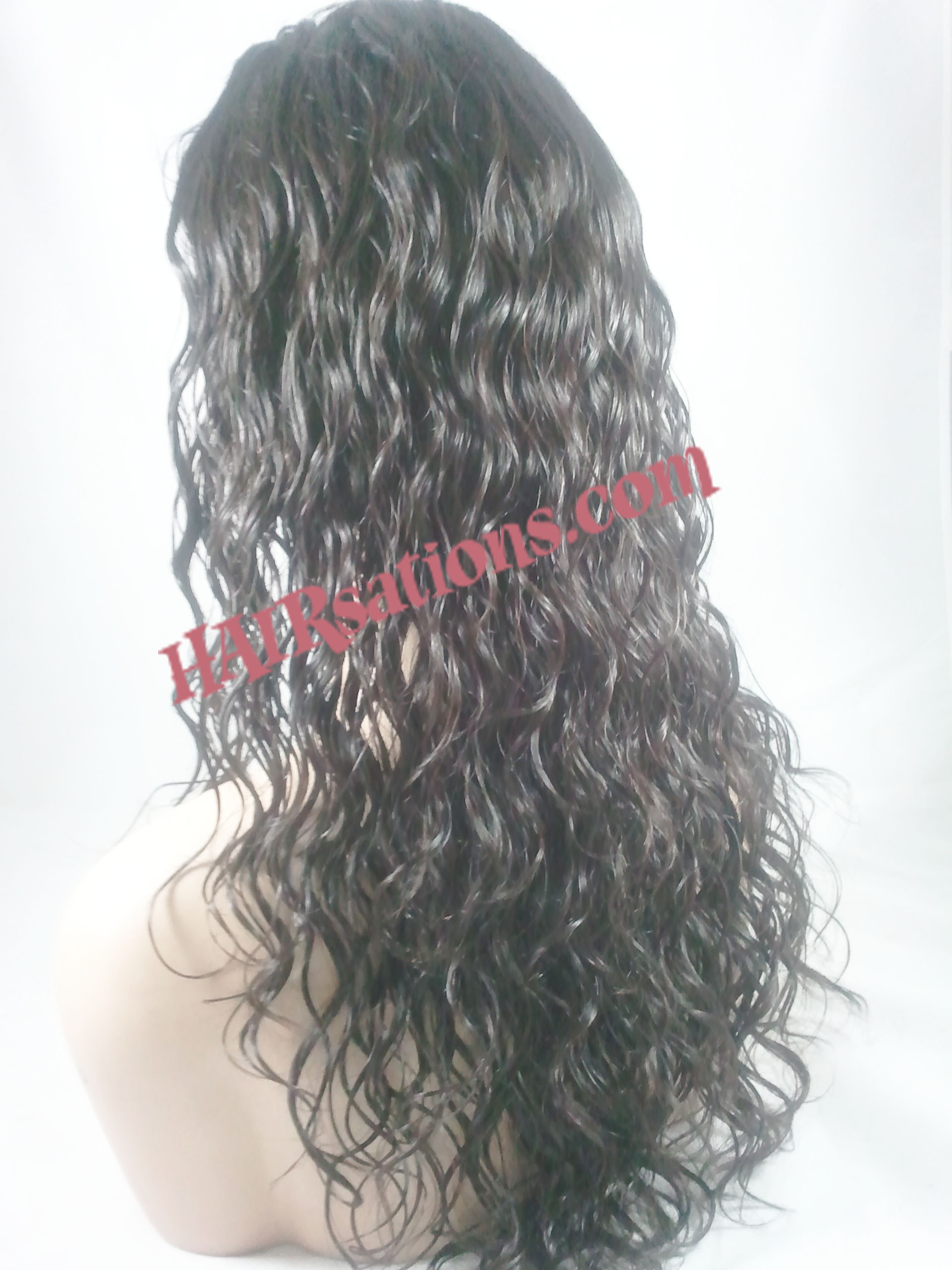 Custom Brazilian Wavy with 5x5 silk top - Click Image to Close